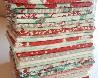 Winterberry Fat Quarter Bundle - ENTIRE Collection - Kate and Birdie Paper Co for Moda Fabrics
