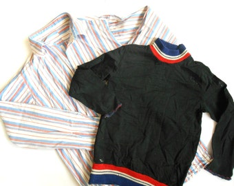 Soviet kids school uniform shirt Gym shirt Soviet children boys school uniform USSR era collectible