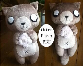 Otter Plush Pattern
