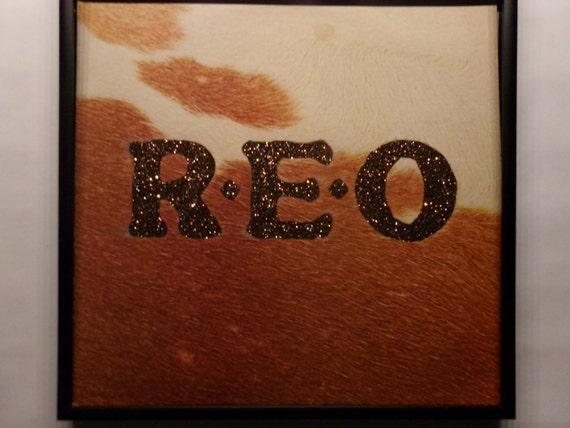 Glittered Record Album - REO Speedwagon - REO