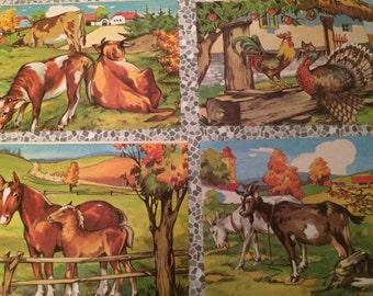 Vintage block puzzle
