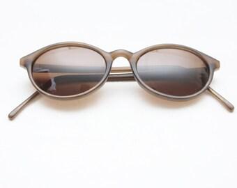 "Rare 90's Vintage ""OLIVER"" Oval Sunglasses"