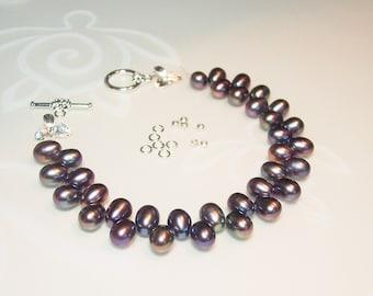 Freshwater Pearl Bracelet Kit