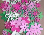 60 assorted Flower Botanical Cricut Die Cuts