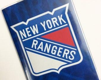 Passport Cover Case Holder -- New York Rangers