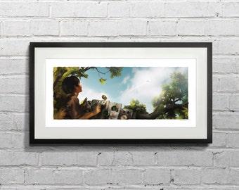 A Dream to Fly / Fine Art Print  - MPAV001