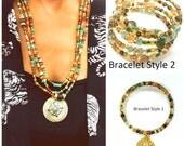 Beaded Necklace, Boho Beaded Necklace, Versatile, Handmade Jewelry, Beaded Jewelry, Necklace Set, Layering necklace