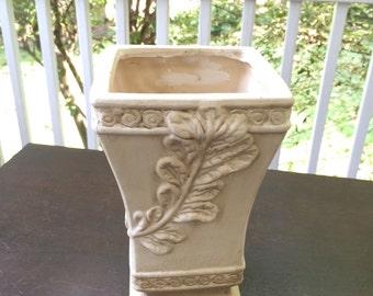 Ceramic planter flower pot vase