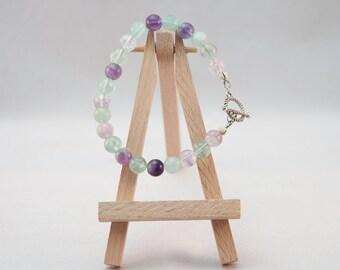 Gemstone Bracelet - Fluorite