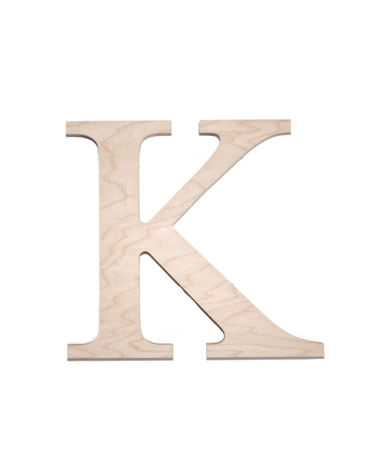 Wooden greek sorority and fraternity letter kappa for Buy wooden greek letters