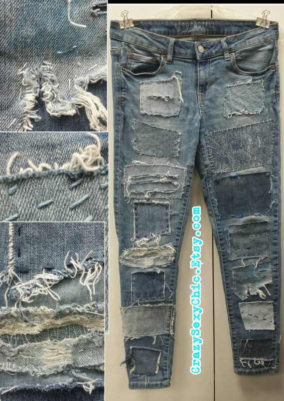 Customized Jeans from CrazySexyChic