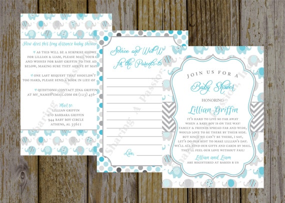 long distance baby shower invitation shower by sharingapassioninc