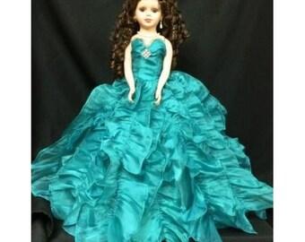 "20"" Sweet Sixteen Doll with rhinestone tiara"