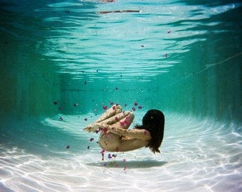 Birdee in Water. 8x10 print by Ryan Muirhead. Unsigned.