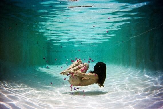 Birdee in Water. 8x10 print by Ryan Muirhead. Unsigned.