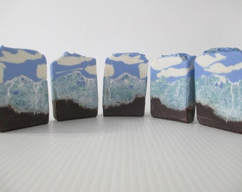 Scenic gifts, scenic soap, landscape soap, landscape gifts, alaska lover, alaskan gifts, mountains