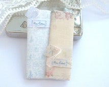 dollhouse french  aubusson sewing fabric bolts  french x 2   miniature 12th scale