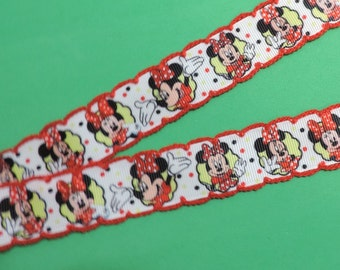 Ribbon - Minnie Mouse - 2 yards