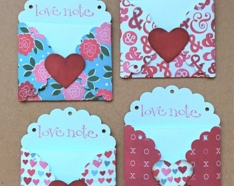 Mini Love Notes - Love Notes - Small Card and Envelope - I Love You Cards /LN-20