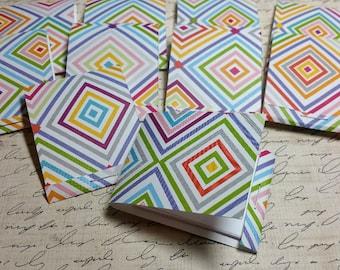 10 Decorative Matchbook note pads.  #MA-4