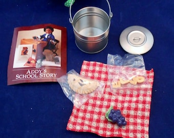 American Girl Pleasant Company Addy's Tin Pail Lunch