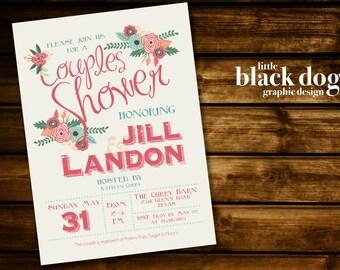 In Full Bloom Wedding Shower Invitation