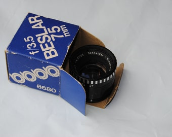 Beslar 75 MM vintage photo lens used/Vintage Camera
