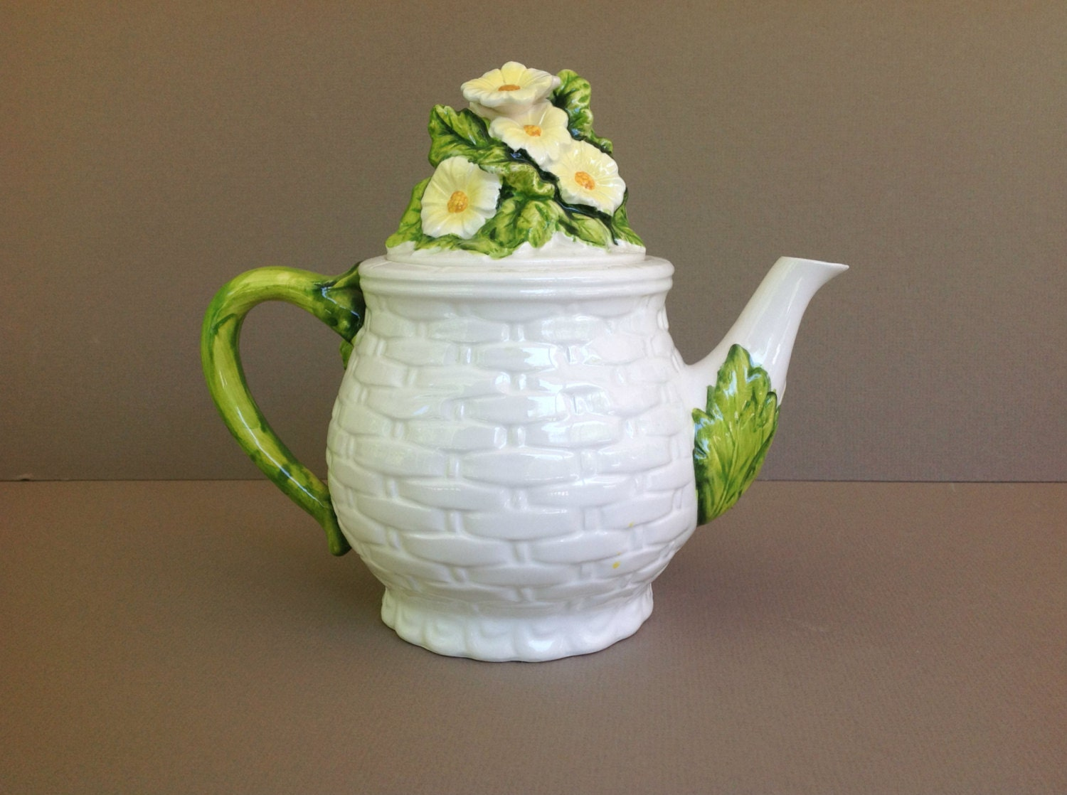 how to clean limestone teapot stains
