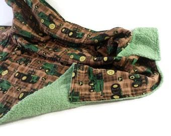 John Deere Blanket - John Deere Toddler Blanket - John Deere Baby Blanket - John Deere Baby Shower - John Deere Boy - John Deere Throw