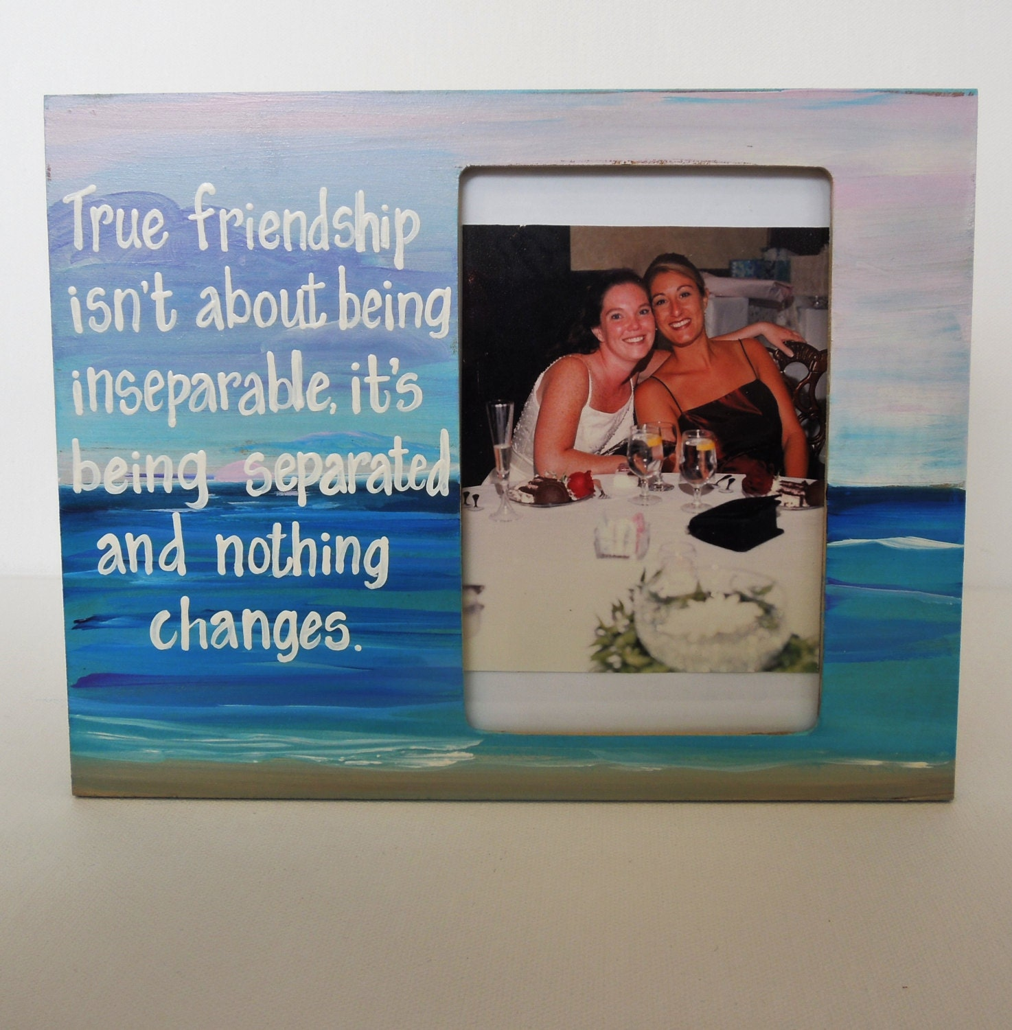 Friendship Picture Frames With Quotes: Best Friend Picture Frame, Long Distance Friend Picture