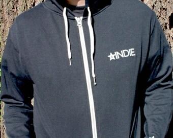 Indie Logo Zip Hoodie