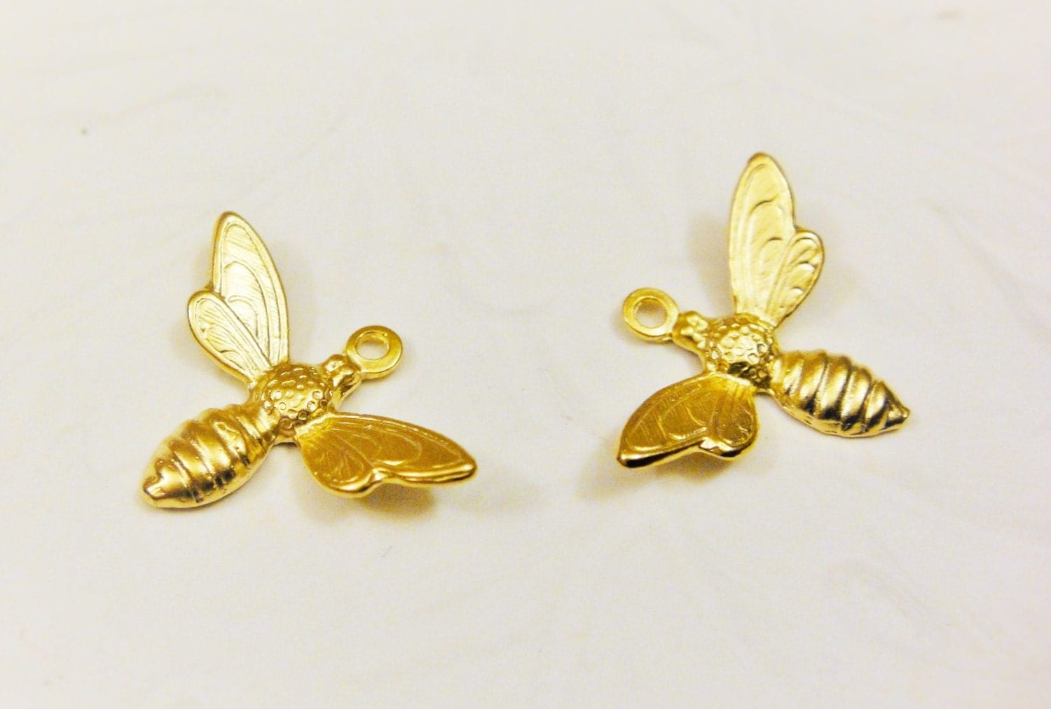Vermeil 18k Gold Over 925 Sterling Silver Bumble Bee