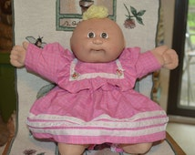 1982 Cabbage Patch doll in Cabbage Patch dress