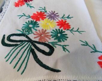 Floral Vintage Handkerchief