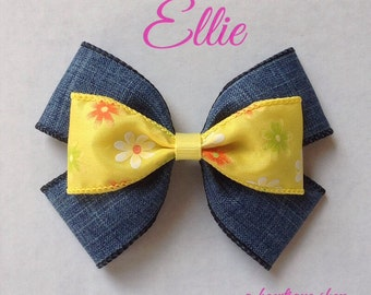 ellie hair bow