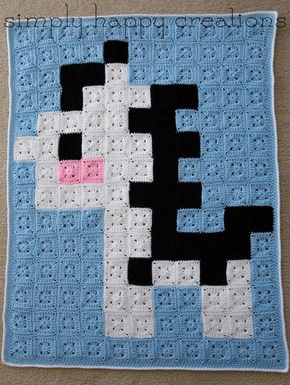 pixel art zebre
