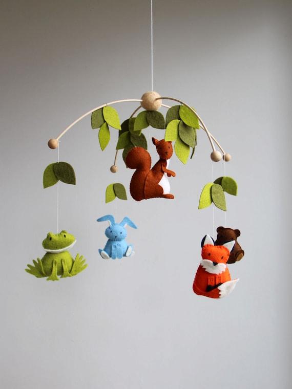 diy baby mobile zelf maken mobile beestjes mobile door tinyluck. Black Bedroom Furniture Sets. Home Design Ideas