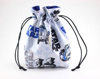 R2D2 Drawstring Bag, Dice Bag