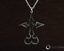 Kingdom Hearts Nobody, Solid Sterling Silver Pendant