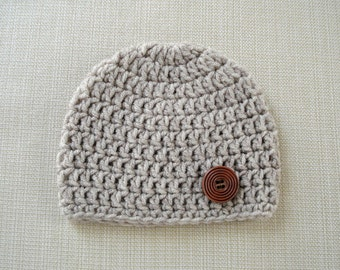 Crochet baby boy hat Newborn boy hat Crochet newborn hat Boy Newborn photo prop hat Newborn baby boy beanie Newborn outfit Baby boy gift