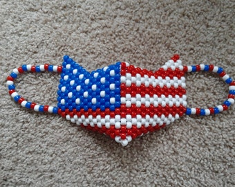 USA Patriot Kandi Mask