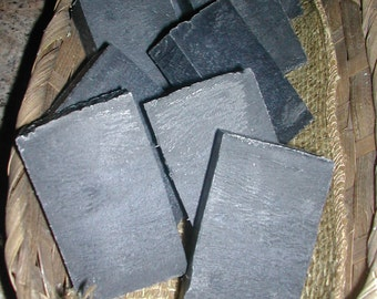 Unscented Activated Charcoal Face Soap Vegan Handmade Cold Process Gentle