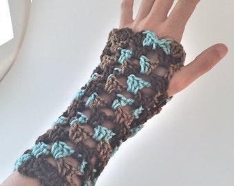 Multi-Colored Fingerless Gloves