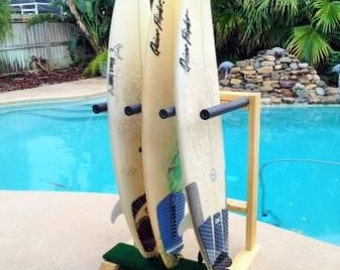 Vertical Surfboard Rack (Storage, Shelf)