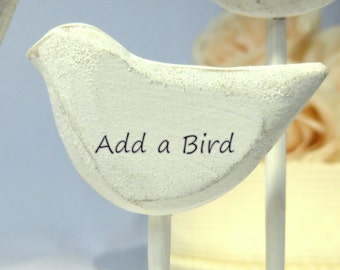 Add a Bird to Your Cake Topper Purchase