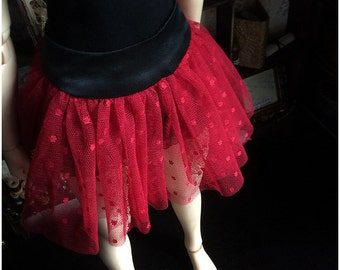 Red Lace Skirt (SD)