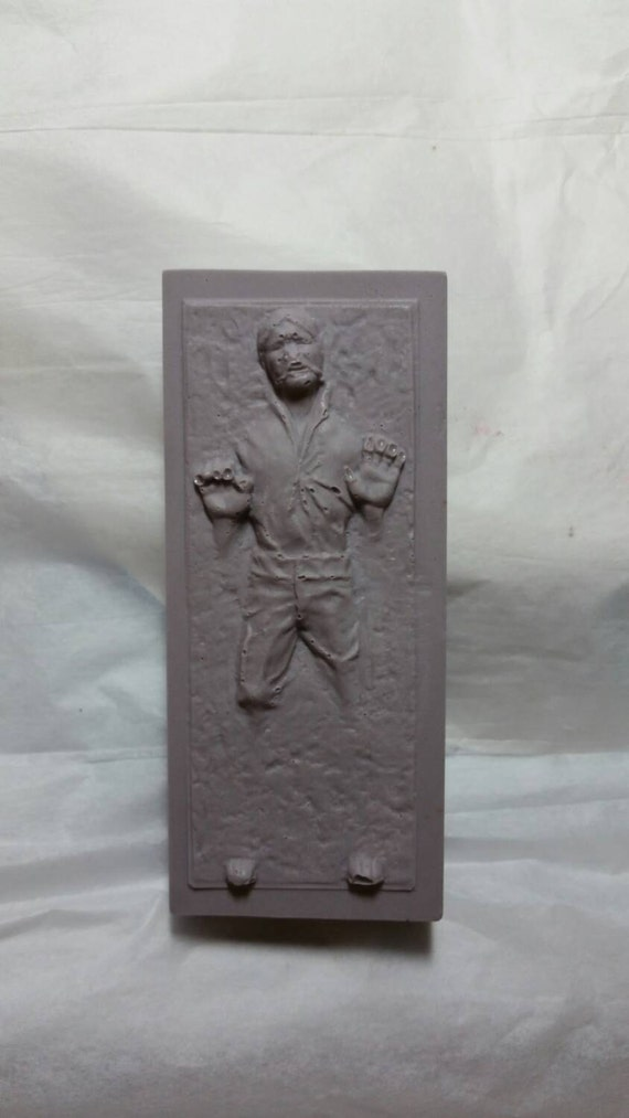 Star Wars Han Solo in Carbonite from WTF Soap!