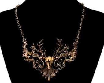 Deer Messenger neclace~