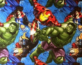 Marvel Comic Cotton Fabric by Springs Creative! [Choose Your Cut Size]