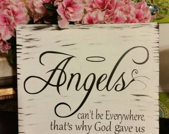 Beautiful angels can't be everywhere so God gave us friends